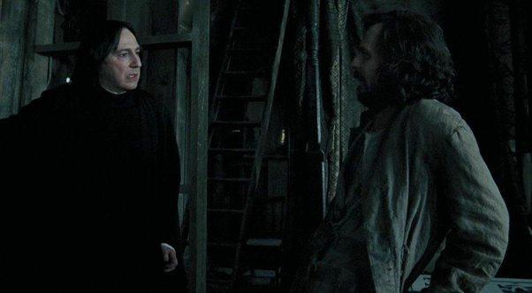 Сириус Блек и Сивиръс Сней в Хари Потър и затворникът от Азкабан