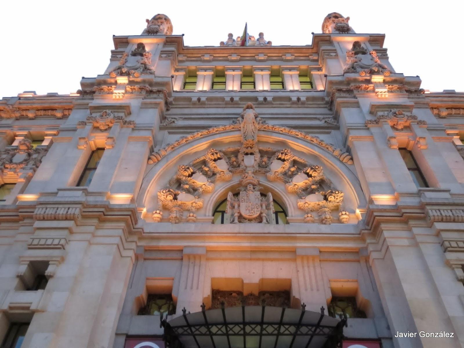 Antonio Palacios. Palacio de Correos. Palacio de Cibeles