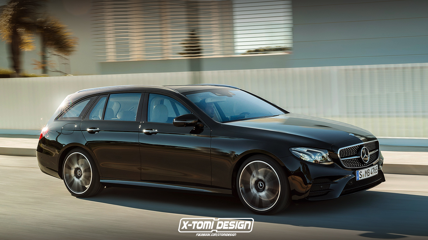 X-Tomi Design: Mercedes-Benz E43 AMG Estate