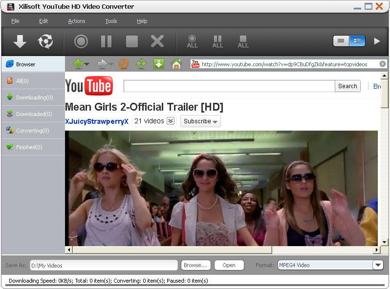 youtube hd video