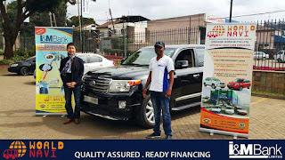 I&m bank world navi Japanese car imports finance