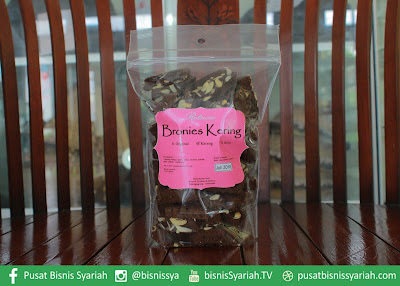 Brownis Kering Brownis Kering pusat bisnis syariah camilan indonesia produk indonesia produk lokal produk ukm indonesia