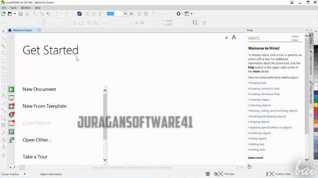 Download CorelDRAW Graphic Suite x8 Full Version