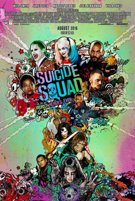 suicide squad poster