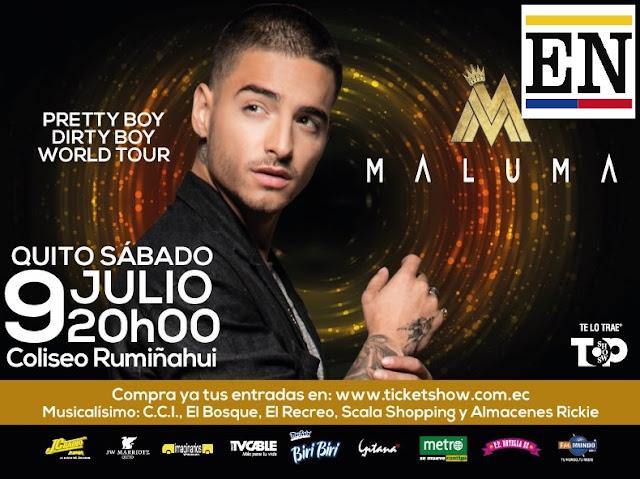 concierto maluma ecuador