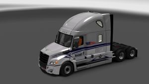 Bowerrs Trucking LLC Skin for Freightliner Cascadia 2018 V 2