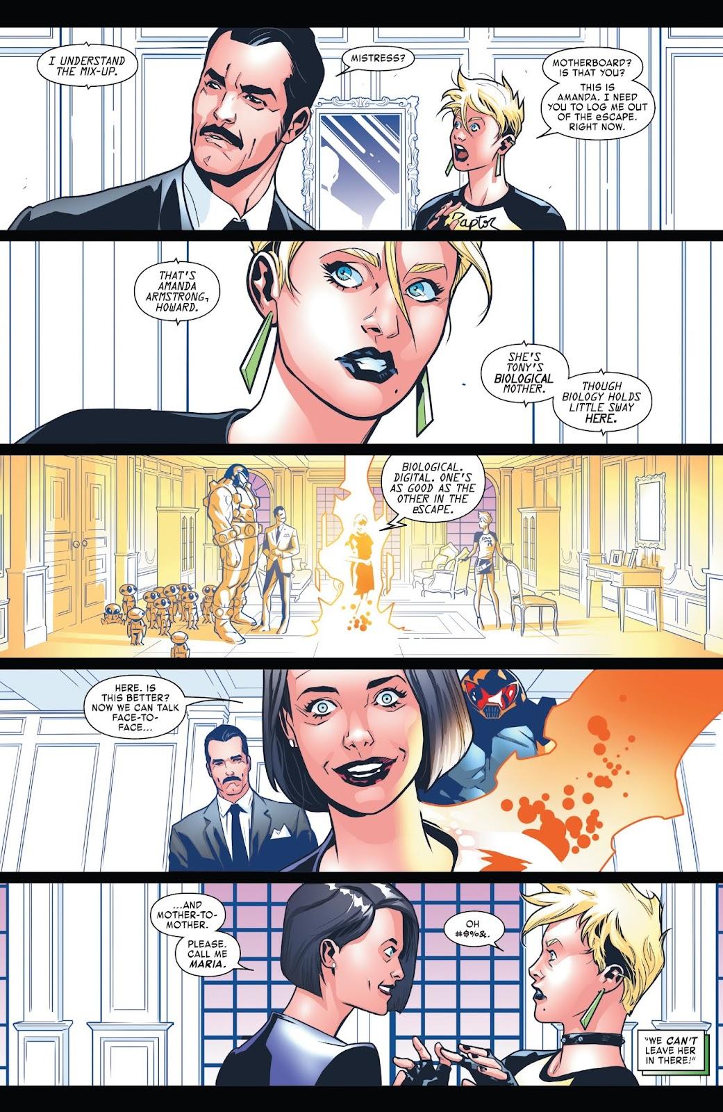 Read online Tony Stark: Iron Man comic -  Issue #7 - 10