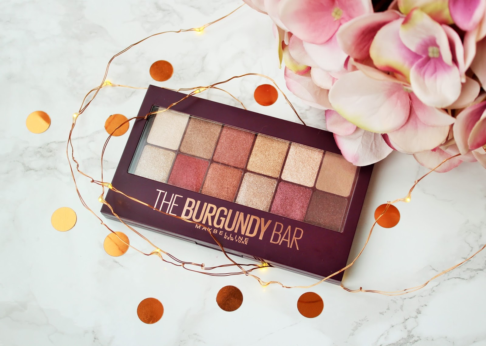 Maybelline The Burgundy Bar Eyeshadow Palette Review - 1