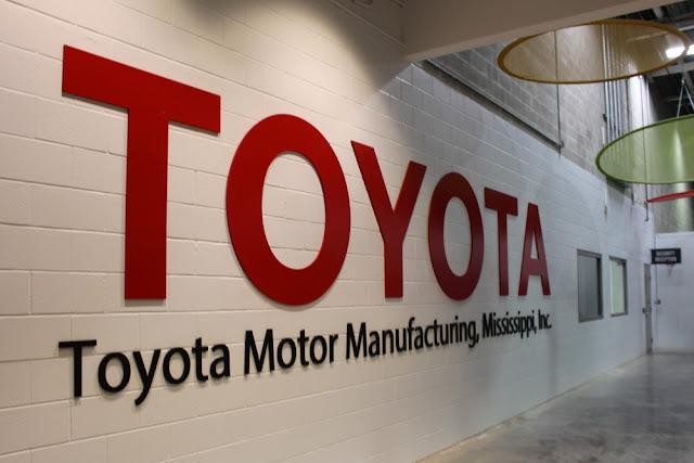 The strategy supports Toyota's commitment to invest $10 billion in its U.S. facilities over the next five years.