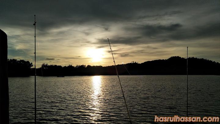 Lokasi Memancing Lumut - Chalet Nelayan 3, Damai Laut