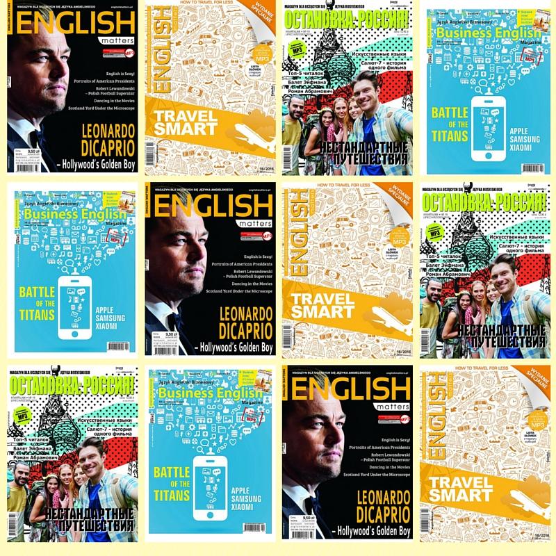 Czasopisma do nauki języków obcych Wydawnictwa Colorful Media.