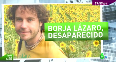 http://www.lasexta.com/programas/mas-vale-tarde/tras-la-pista/cumplen-mas-dos-anos-desaparicion-fotoperiodista-borja-lazaro-colombia_2016041400319.html