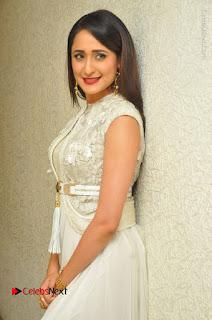 Actress Pragya Jaiswal Stills in Beautiful White Dress at turodu Audio Launch  0024.JPG