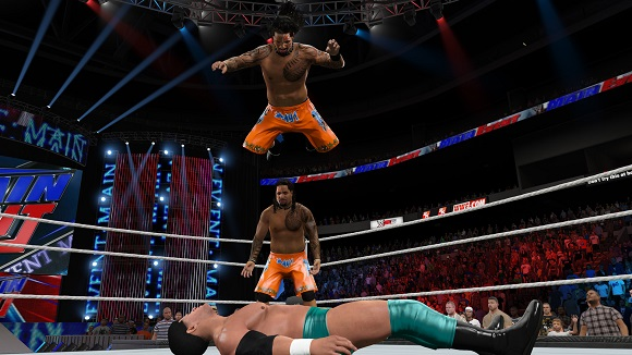 brings the hardest hitting and most fluid WWE gameplay to date WWE 2K15-RELOADED