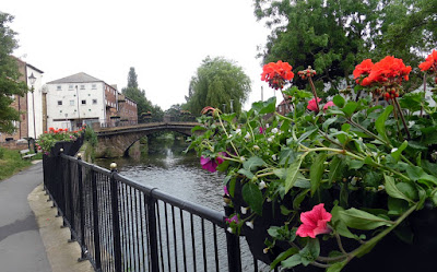 Picture: Brigg in Bloom 2018 added floral colour throughout the town centre and beyond - see Nigel Fisher''s Brigg Blog