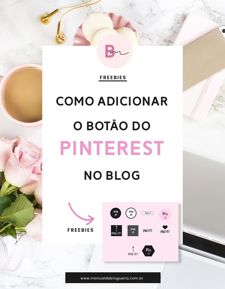 botão do Pinterest