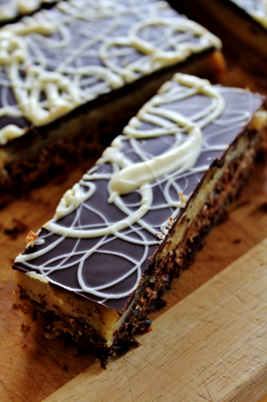 Millionaire's Flapjack - By Recipe from Twist by Martha Collison