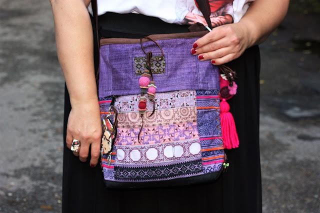 Frida Kahlo bunte Tasche