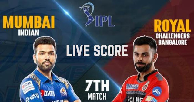 IPL 2019 Match 7 RCB vs MI Live Score and Full Scorecard