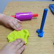 Toddlers Playing with Play Dough: Stressful or Stress Relieve Activity?