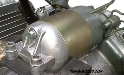 Cara Mudah Memperbaiki Stater Motor yang Mati