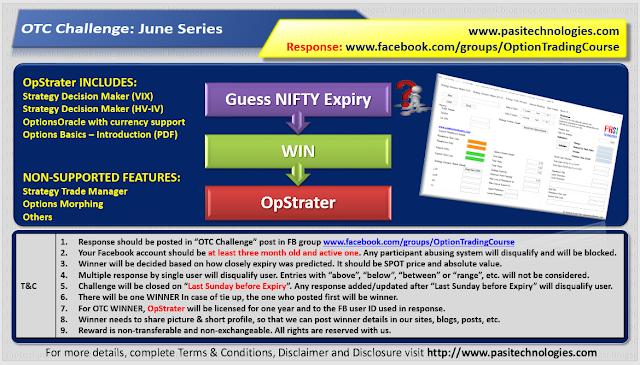 OTC Challenge: June 2018