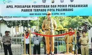Pemerintah Kota Palembang Bentuk Tim Gabungan Atasi Parkir Liar