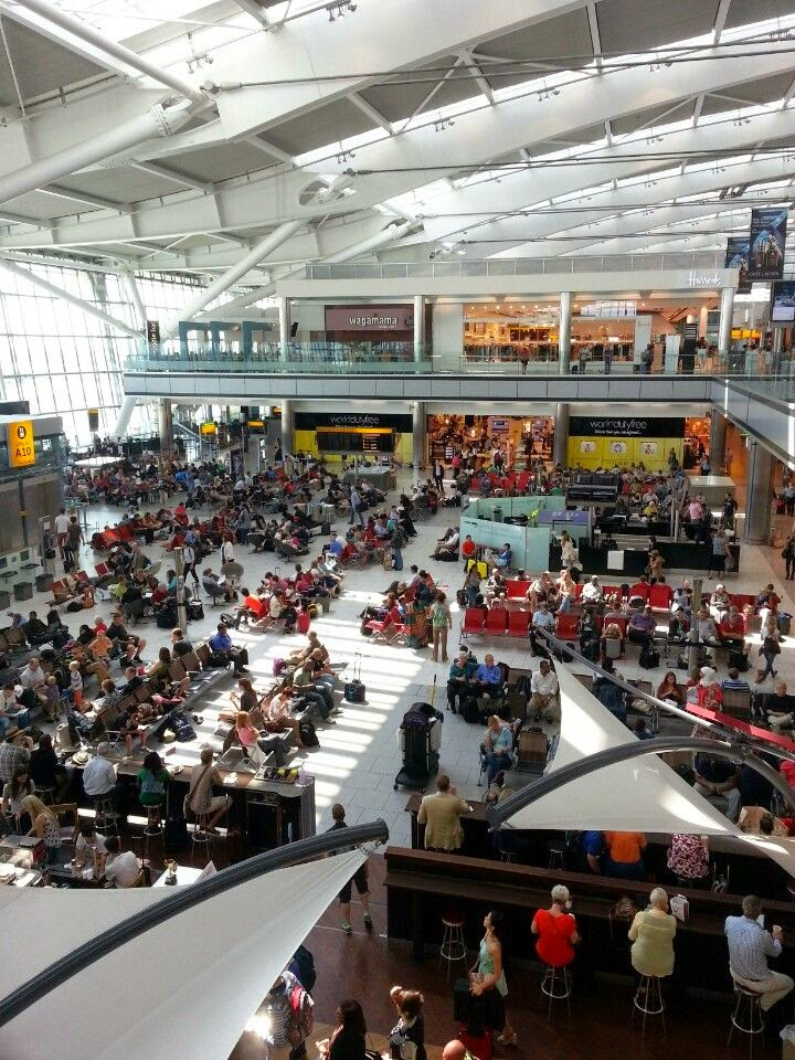 Worlds Top 10 Busiest Airports | London Heathrow Airport, UK – 72 million passengers each year