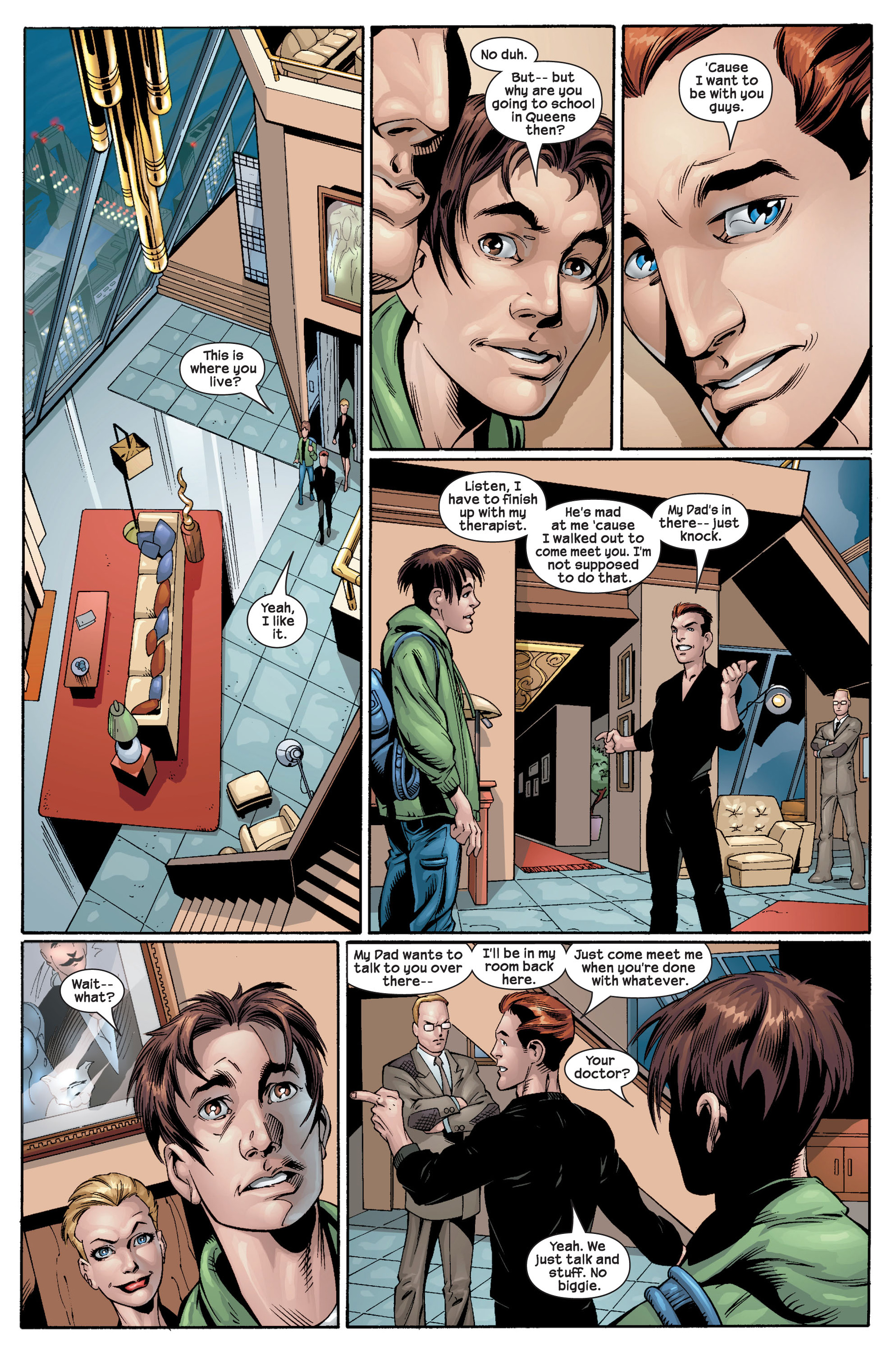 Read online Ultimate Spider-Man (2000) comic -  Issue #22 - 31
