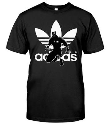 Black Panther Adidas T Shirt Hoodie Sweatshirt and Cleats