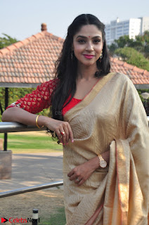Angana Roy in Silk Saree at Teaching Tree Carnival .xyz 009.JPG