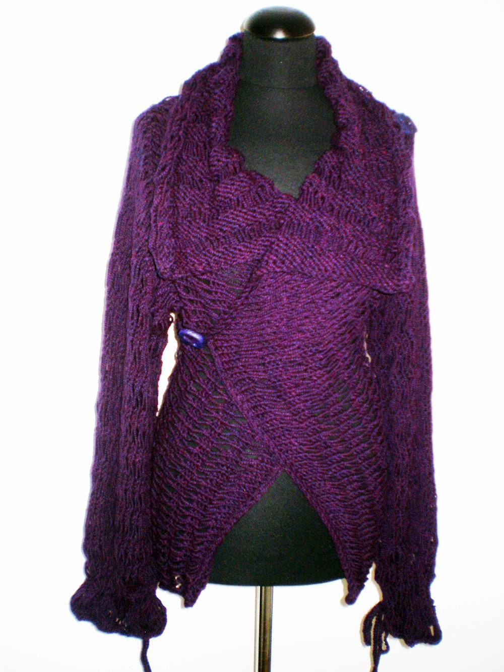 handmade sweaters divna s sweaters amethyst color of my new handmade sweater 2639