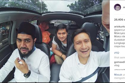 Sepenggal Kisah Inspiratif! Inilah Sikap Seorang Muslim, Arie Untung Larut dalam Suasana 112