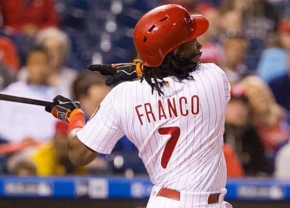 Maikel Franco hit a grand slam and finished with six RBIs