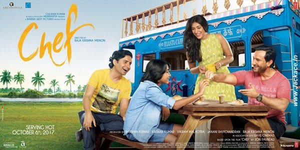 Chef First Look Poster 2