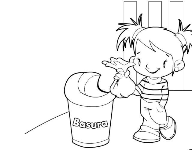 Dibujos De Contaminacion Del Aire Para Colorear Imagui