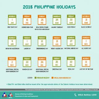 Listahan ng mga WALANG PASOK sa PILIPINAS