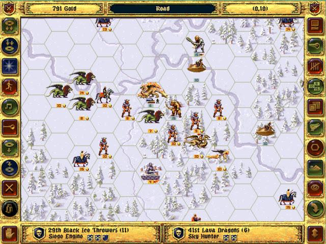 Lava Dragons | Fantasy General Screenshot