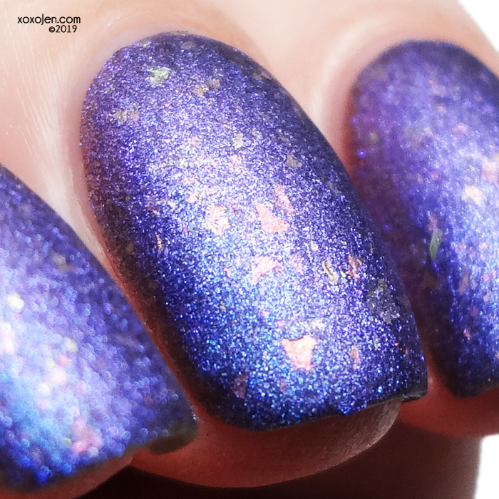 xoxoJen's swatch of Tonic Sky Diver