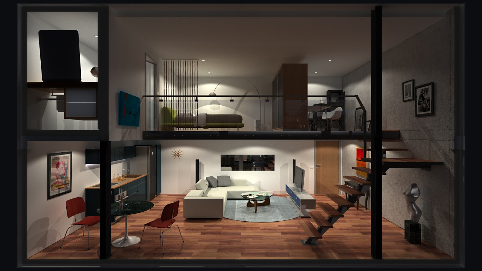 Quais as principais diferen as entre os tipos de apartamentos reciclar e decorar blog de - Fotos de lofts decorados ...