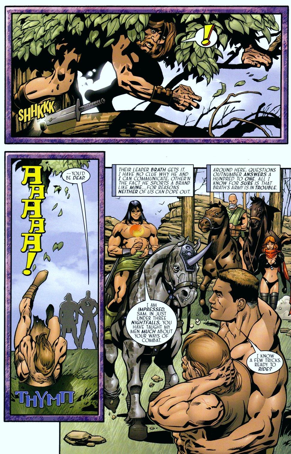 Read online Sigil (2000) comic -  Issue #18 - 14