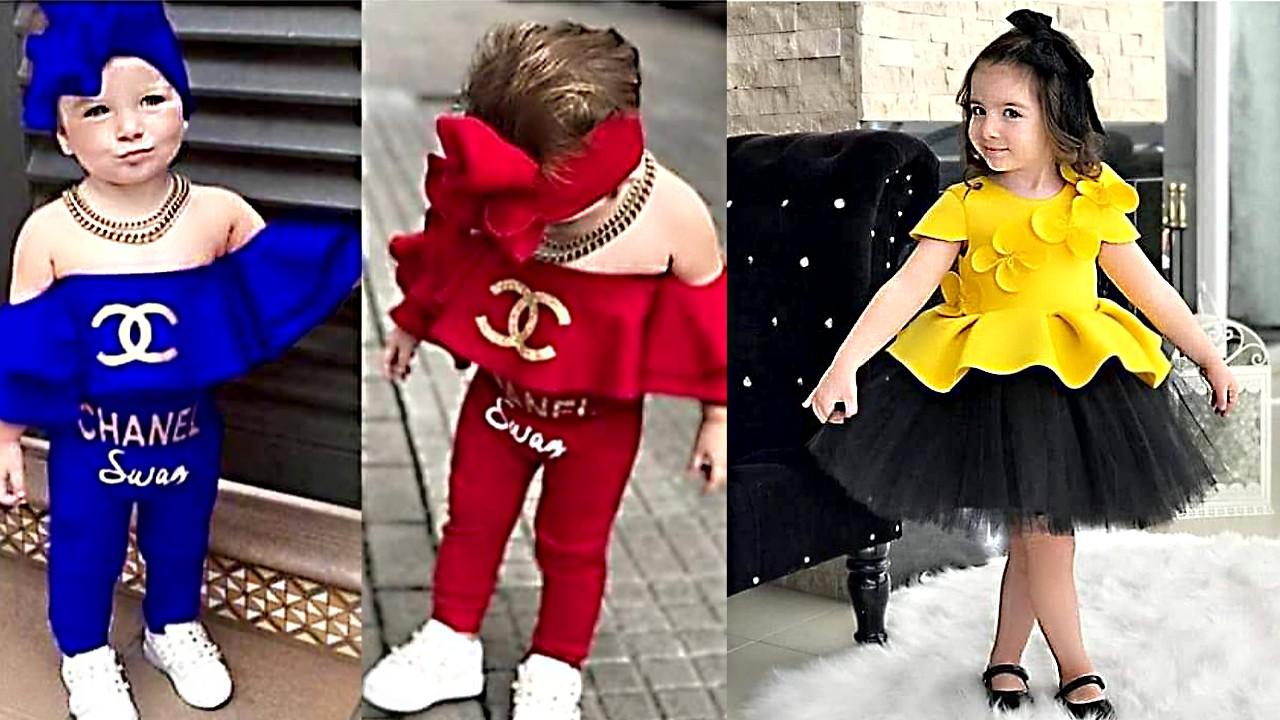 3426decd9 جديد ملابس العيد للاطفال 2019 تحفة