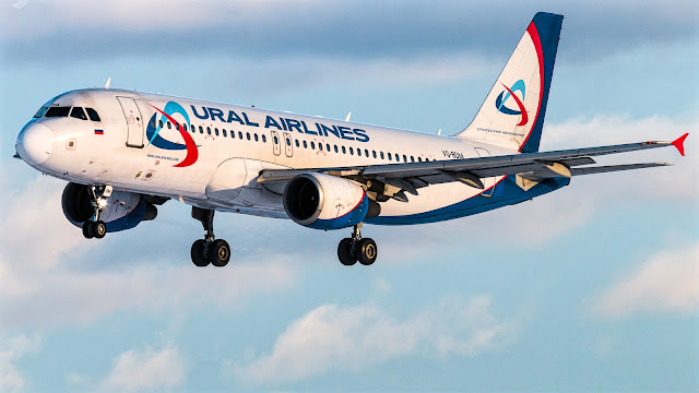 a320-200 ural airlines