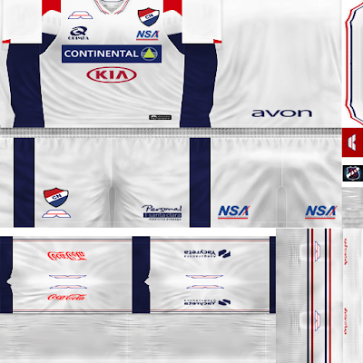 PES 6 Kits Club Nacional de Paraguay Season 2018/2019 by JeremySvr