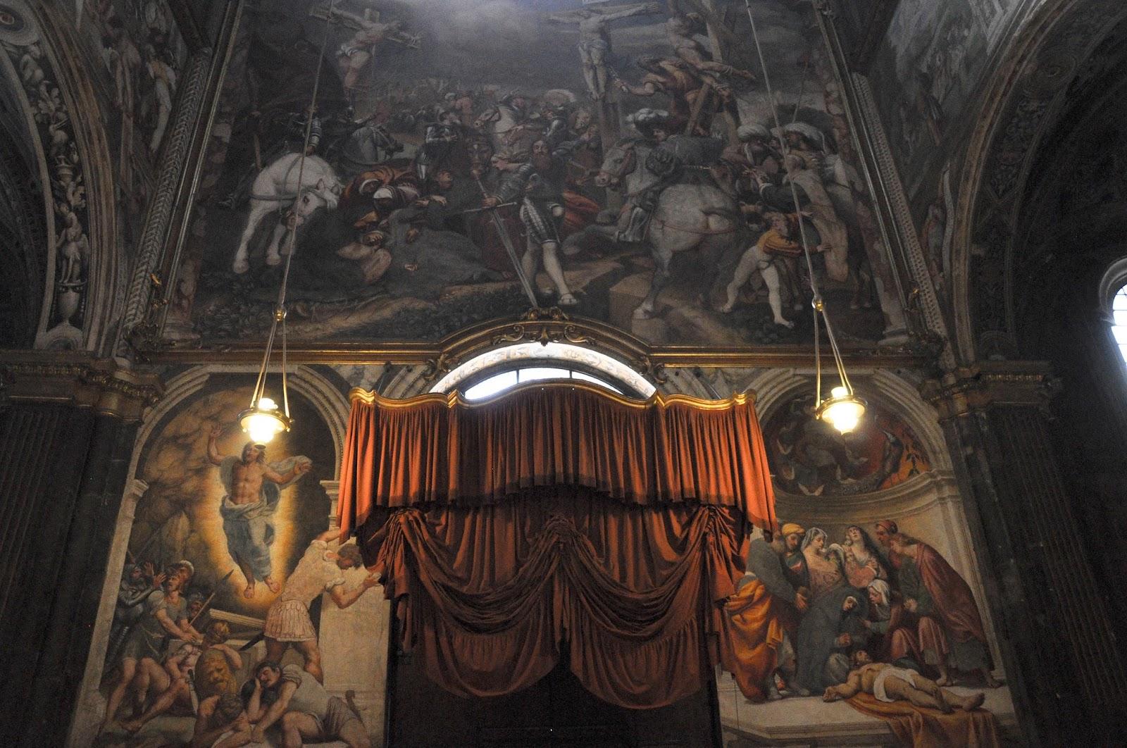 Inside Duomo, Cremona, Italy