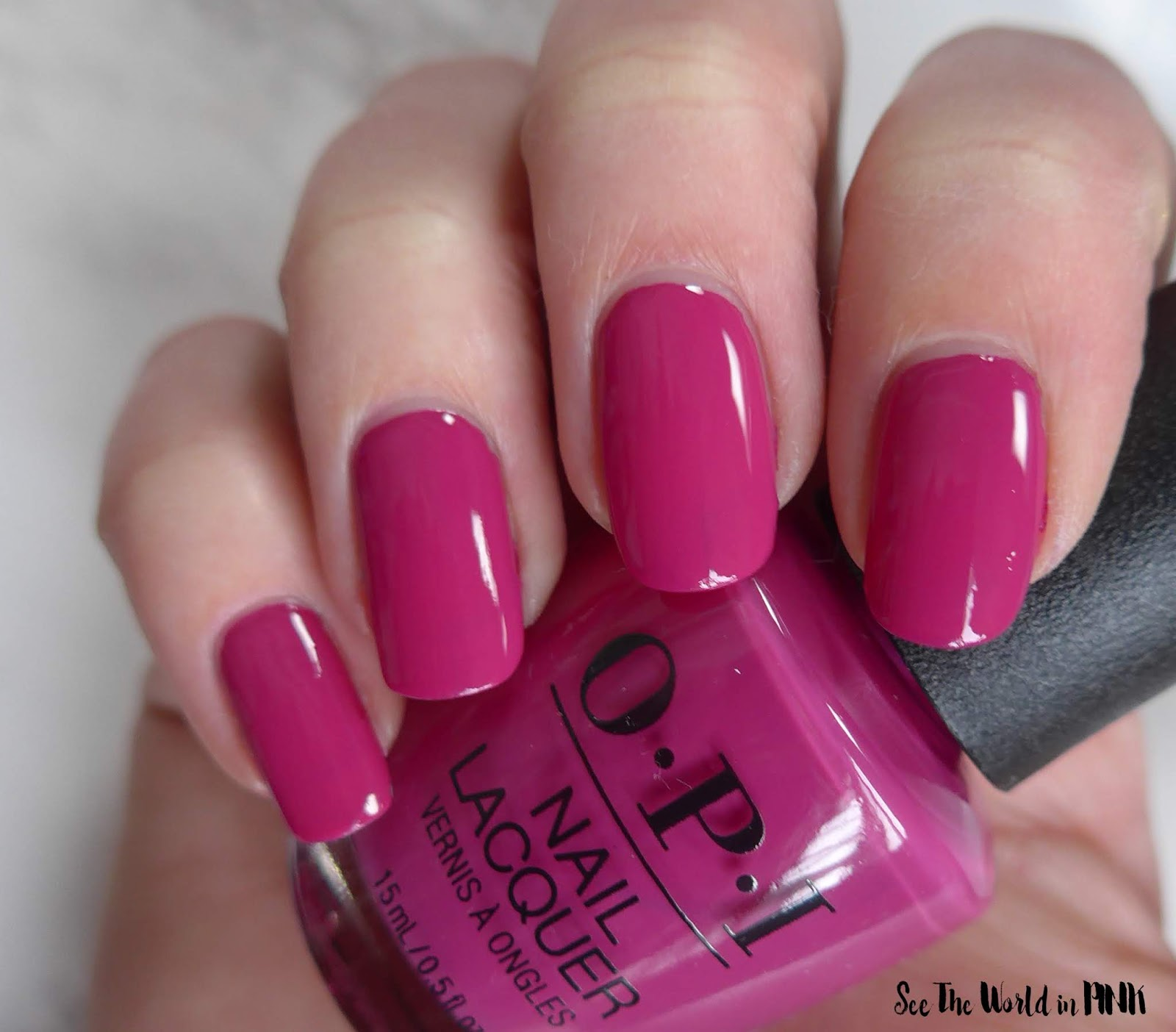 Manicure Monday - OPI Tokyo Collection for Spring and Summer 2019 Hurry-Juku Get This Color