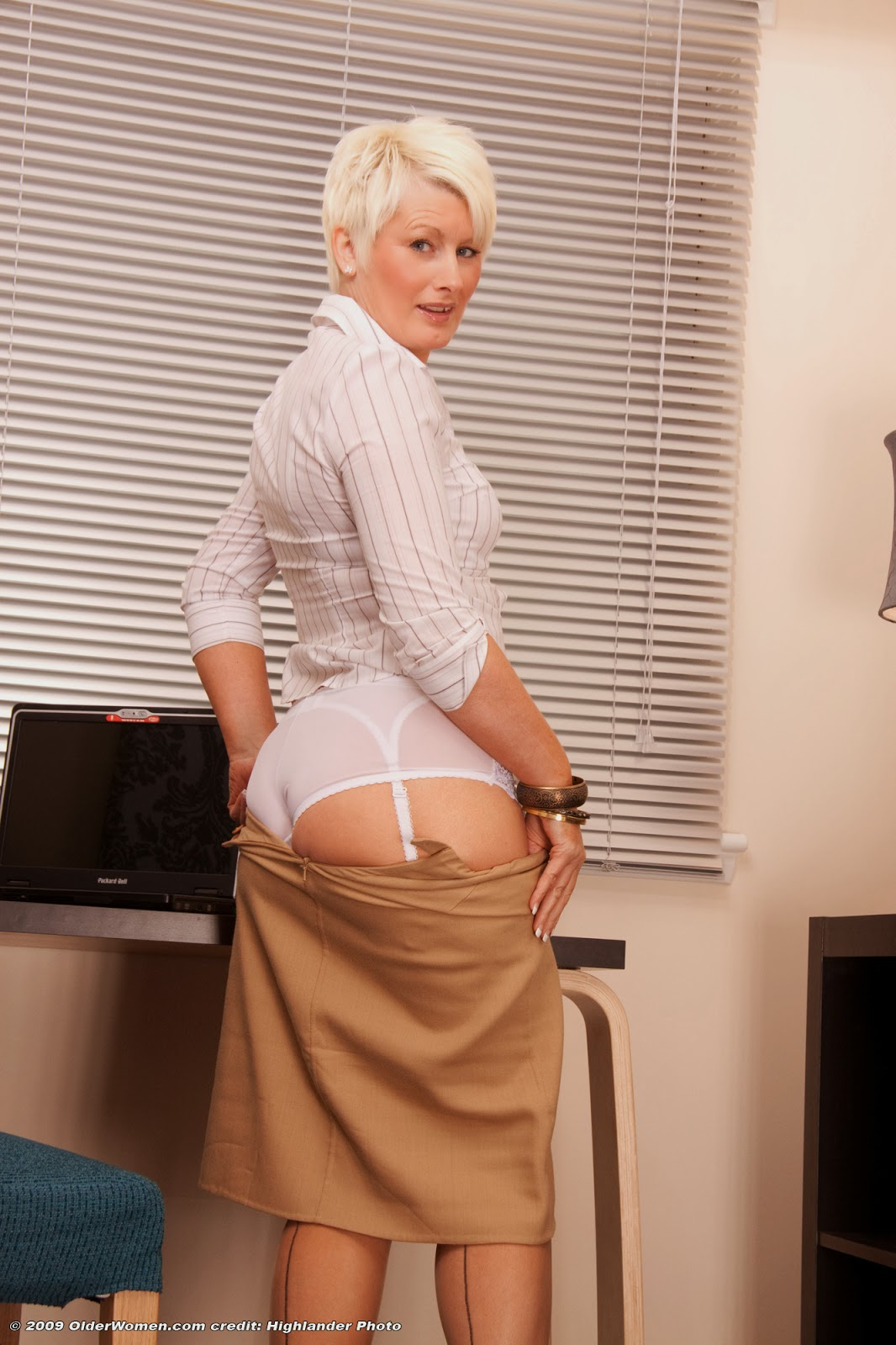 Sally british milf