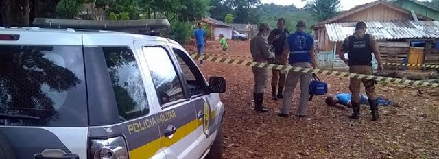 Campo Mourão: Jovem é assassinado em plena luz do dia!