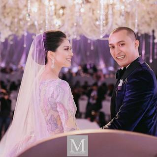 foto perkahwinan anzalna nasir