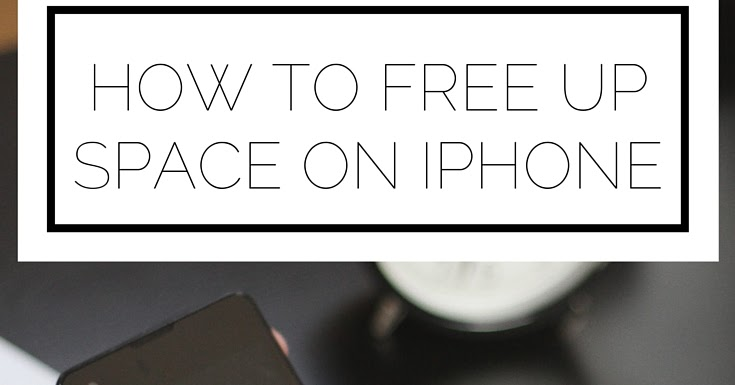 how to free up space on iphone how 2bto 2bfree 2bupspace 2bon 2biphone jpg 20069